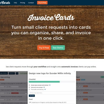 Invoice Cards